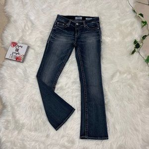 Daytrip Virgo Bootcut Womens 27R Flap Jeans